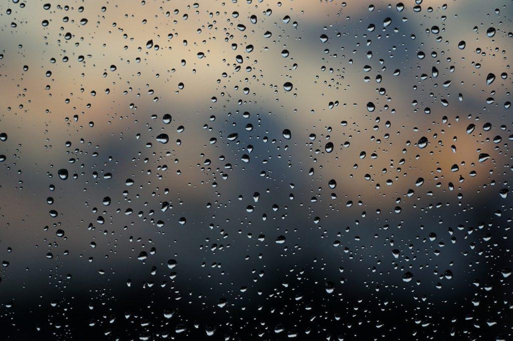 mapa deszczu